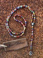Trade Bead Rosary Necklace - LTJ Exclusive