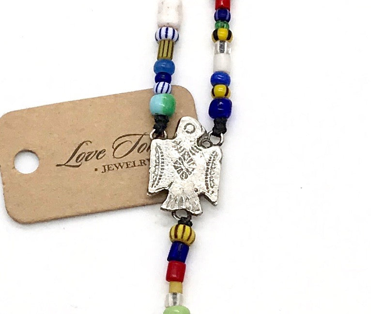 Phoenix Rosary Style Necklace - LTJ Exclusive