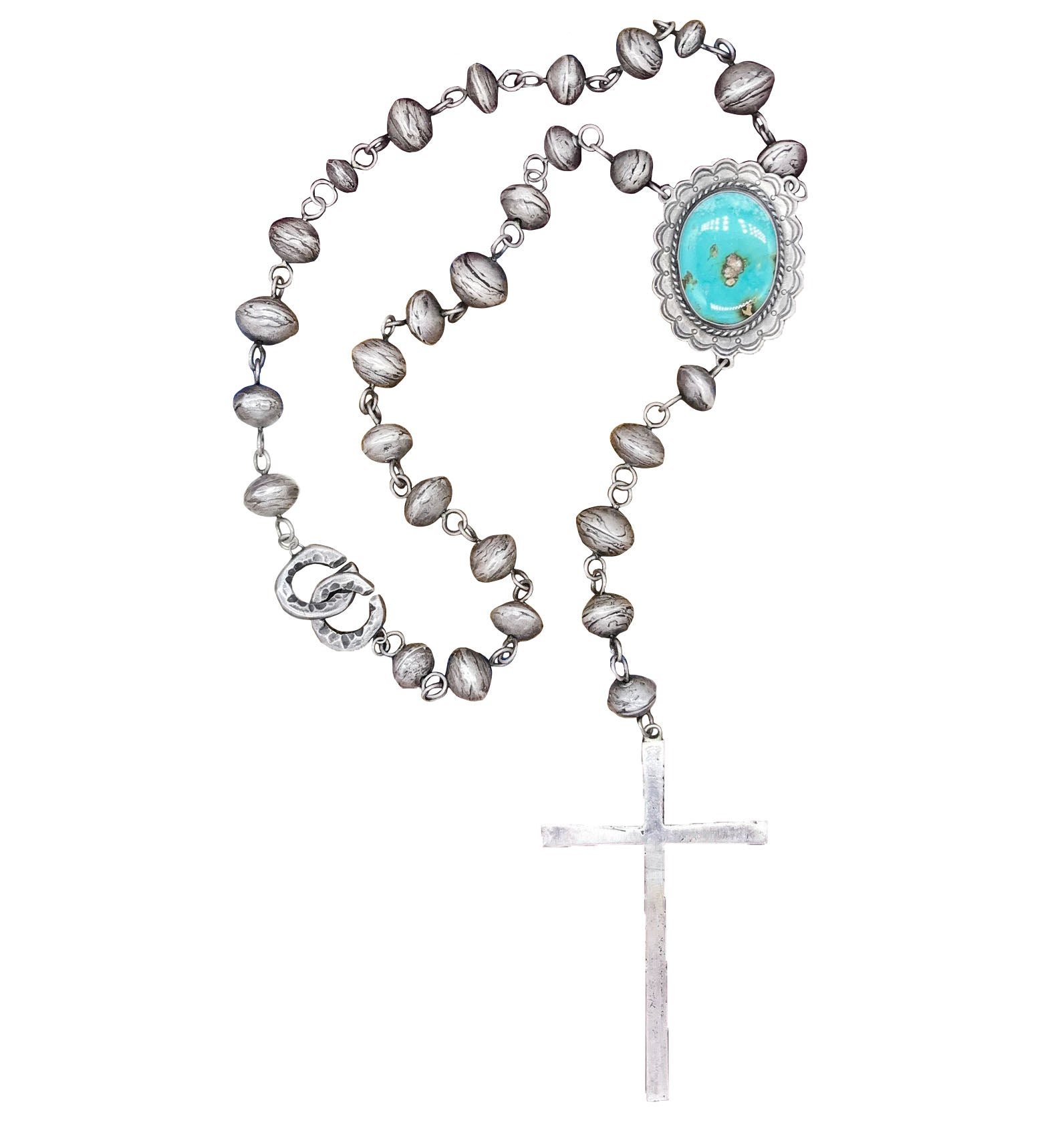 LTJ Navajo Pearl Rosary - One of a Kind