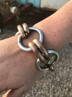 Big Mixed Metal Bracelet