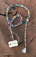 Trade Bead Rosary Style Necklace - LTJ Exclusive