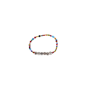 Word Up Trade Bead Bracelet