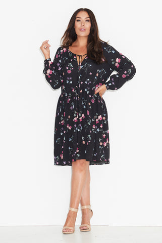 Scatter Floral Boho Dress 17 Sundays
