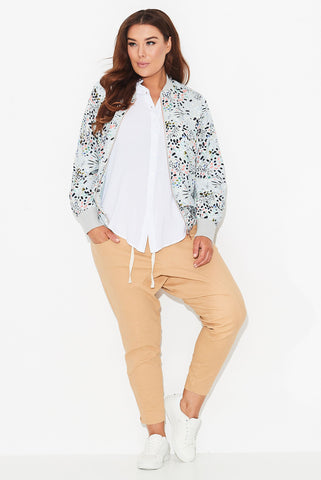 Confetti Print Bomber Jacket- Sizes re-stocked