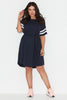 Sports Stripe Tee Dress