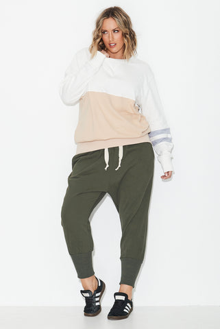 Colour Block Sweat