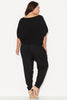 TEXTURED STITCH COCOON KNIT TOP - BLACK 17 Sundays