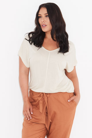 Basic Dolman Tee BONE