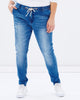 Walk the Line Anti-Fit Boyfriend Jeans