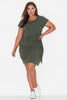 Basic Tie Front Dress