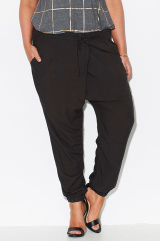 Cross Front Woven Pant