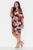 Harlequin Nights Wedge Dress