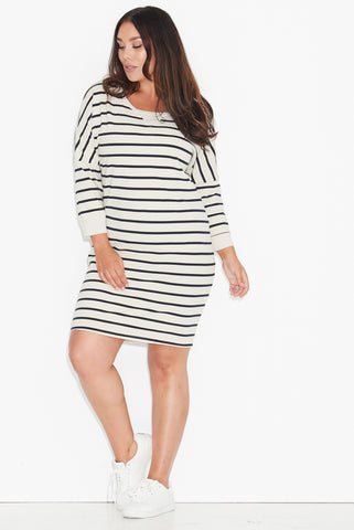 Striped Sweat Dress 17 Sundays