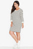 Striped Tee  Dress 17 Sundays