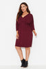 3/4 Sleeve Freefall Dress