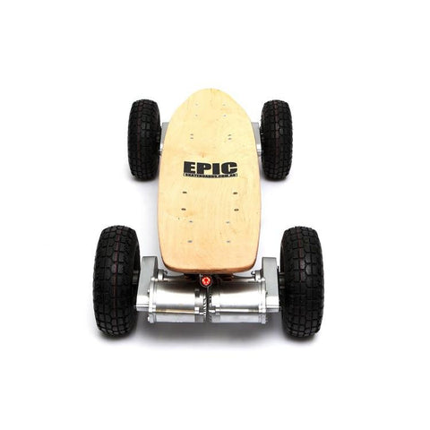 The Dominator 1600w Pro2 Electric Skateboard from Epic - 2 Wheel Drive - Smart Skate n Cycle