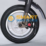 Sky Walker Sky Bike Adult Electric Scooter Foldable with Seat -Black Color- Smart Skate n Cycle
