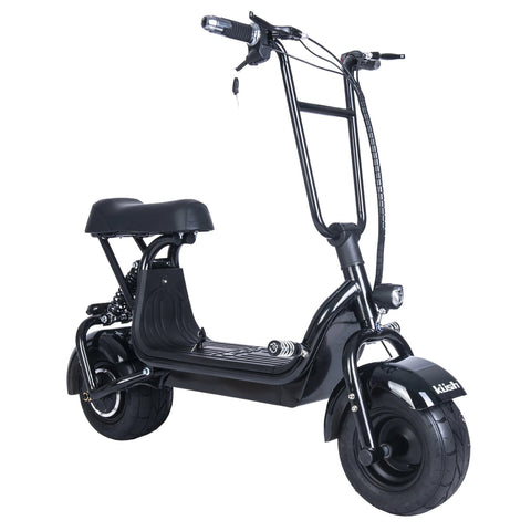 Kush Mini Steezer Electric Scooter with Seat - Black