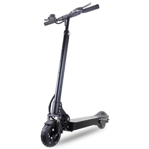 Patgear E5 Foldable Adult Electric Scooter with Carry Bag -Black Color- Smart Skate n Cycle