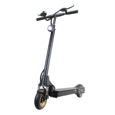 Patgear E5 Foldable Adult Electric Scooter with Carry Bag -Gold Edition- Smart Skate n Cycle