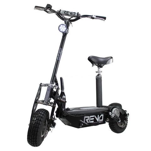 Revo Sprint Electric Scooter 1000w with Seat & Lithium Battery | Smart Skate n Cycle