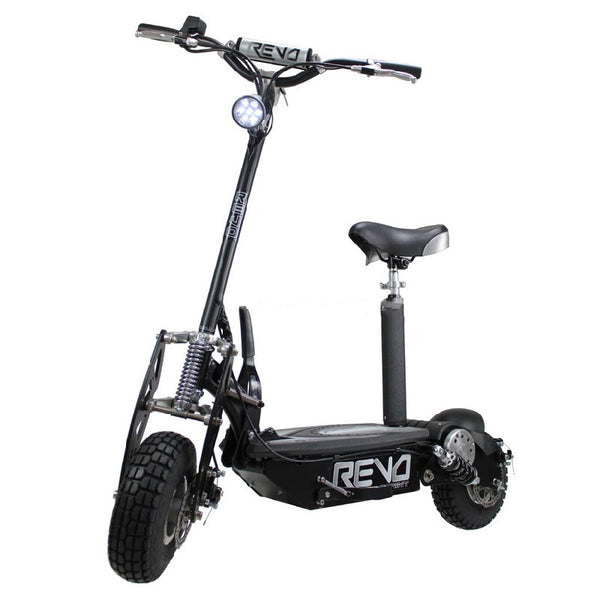 Revo Sprint Electric Scooter 1600w with Seat & Lithium Battery | Smart Skate n Cycle