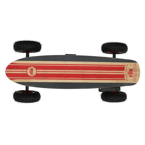 Fiik Street Surfer Electric Skateboard 14ah SLA Battery - Smart Skate n Cycle Australia