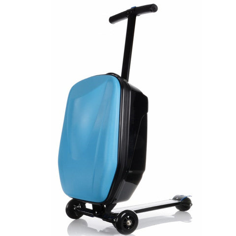 Smart Suitcase/Luggage Foldable Adult's Kick Scooter - Smart Skate n' Cycle Australia