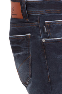 Krossstitch Men's Slim Fit Stretchable Original Denim Jeans