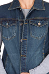 Krossstitch Men's Denim Jacket