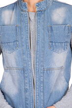 Load image into Gallery viewer, Krossstitch Men's Denim Jacket