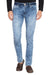 KROSSSTITCH Men Denim Solid Jeans With Button closer