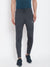 Krossstitch Men's Polyester and Spandex  Bland Track Pants with 2 Side Zipper Pockets