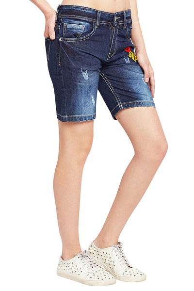 Kopyneko Women's Denim Casual Shorts