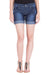Kopyneko Women's Denim Dark Blue Shorts