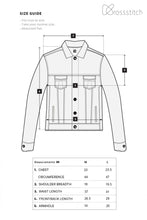 Load image into Gallery viewer, Full Sleeve Light Blue Men's Denim Jacket with Brass Buttons