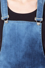 Load image into Gallery viewer, KROSSSTITCH Denim Capri Dungarees For Women & Girls