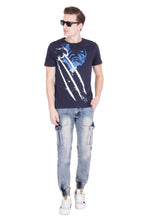 Load image into Gallery viewer, KROSSSTITCH Men's Faded Blue Original Cargo Denim Jeans