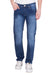 KROSSSTITCH Men's Straight Fit Dark Blue Original Denim Jeans