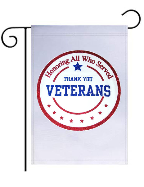 Veterans Day Garden Flag