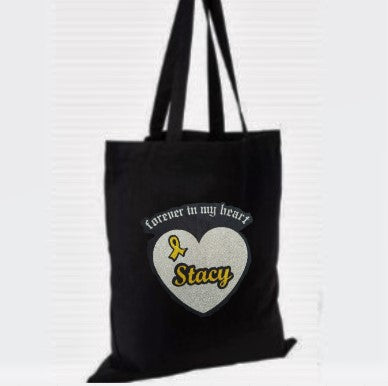 Forever in My Heart Cotton Tote Bag