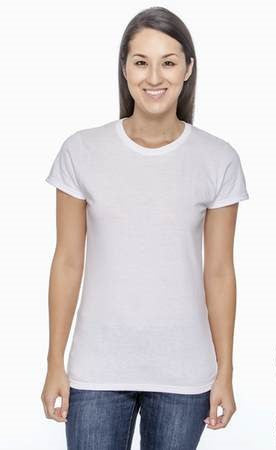 "LADIES ""Be the Change"" T-Shirt in White or Gray"