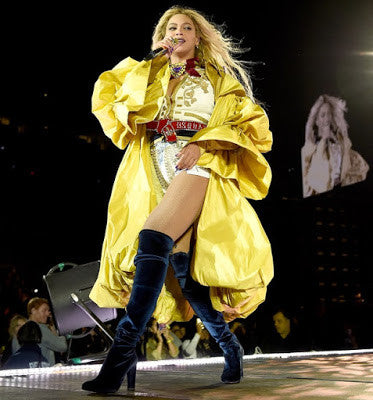 Beyonce Closes the 'Formation' World Tour on our Lust for Life Maven Boots!