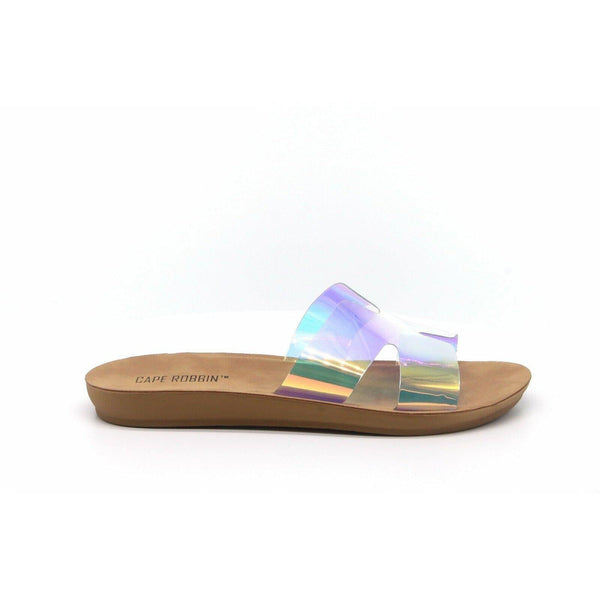 Her Mess Hologram Slide - JaeLuxe Shoetique