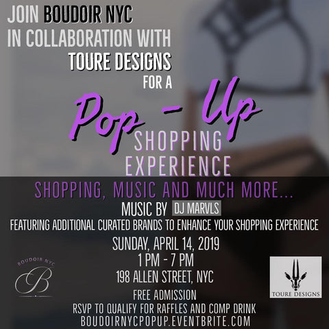 Pop Up Shop & Sample Sale