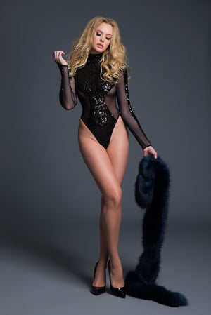 Coco Glamorous Bodysuit - HeavenlySeduction.com