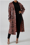 Leopard Statement Trench