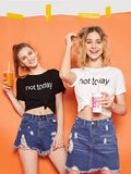 Not Today Tee - boudoirnyc.com