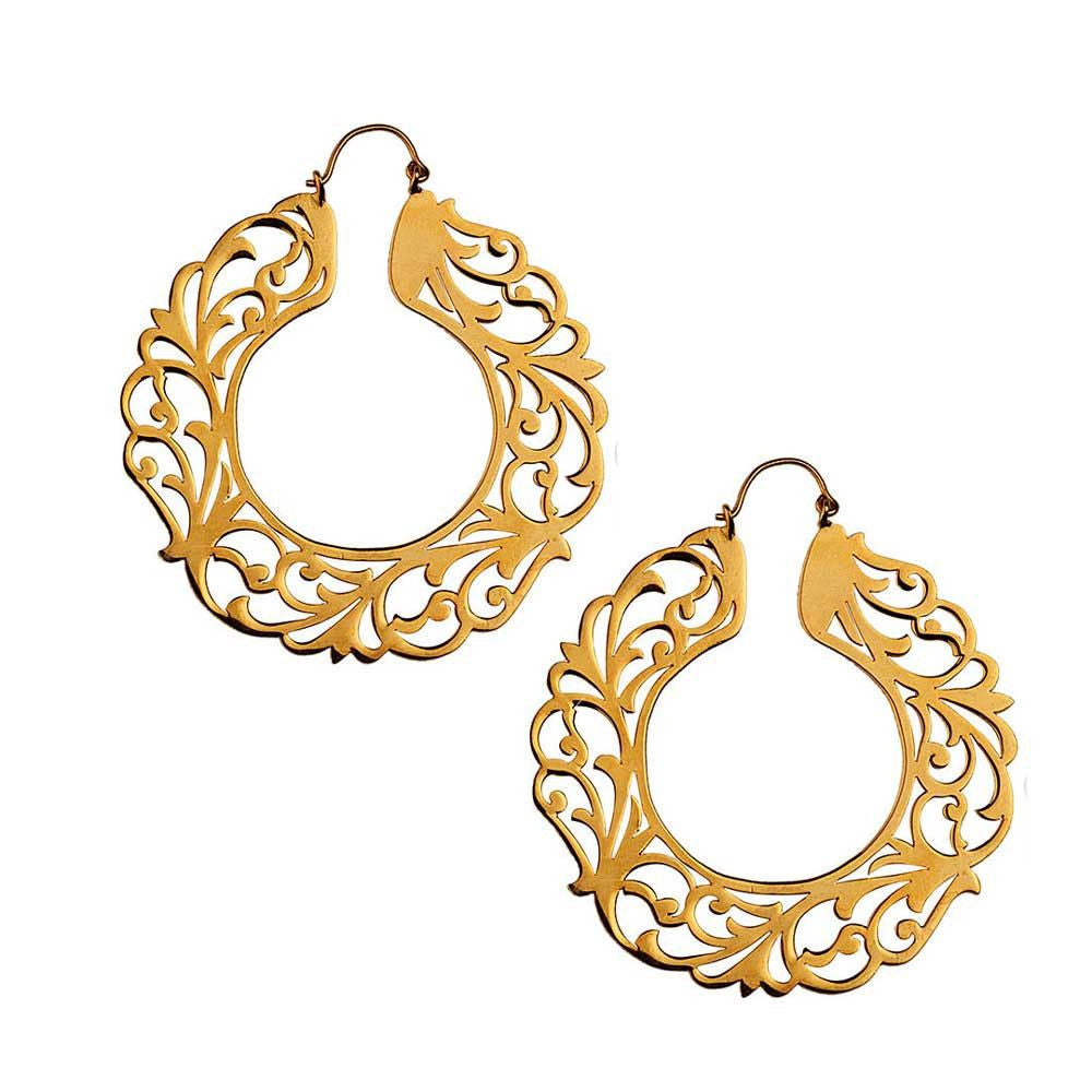 Sudarshan Chakra Earrings - Eina Ahluwalia