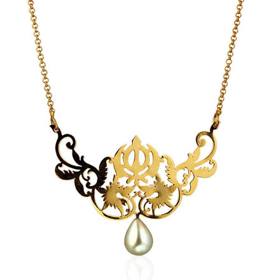 Khanda Necklace - Eina Ahluwalia